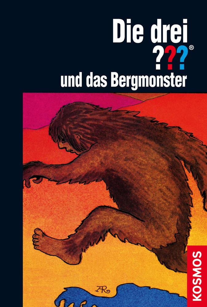 Buchcover: Die drei Fragezeichen und das Bergmonster