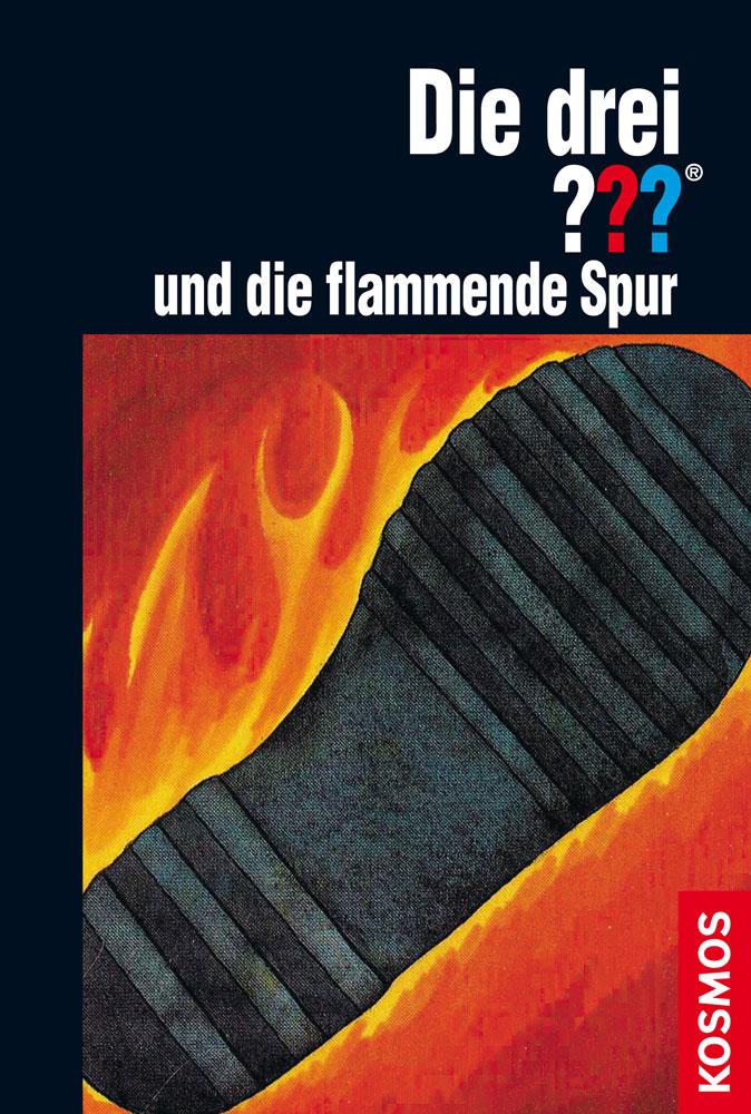 Buchcover: Die drei Fragezeichen und die flammende Spur
