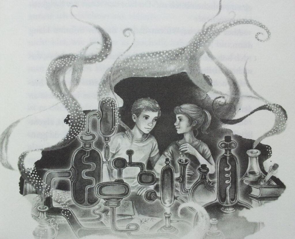 Die Duftapotheke - Illustration